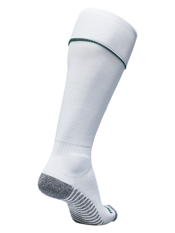 PRO FOOTBALL SOCK 17-18, WHITE/EVERGREEN, packshot
