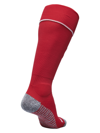 PRO FOOTBALL SOCK 17-18, TRUE RED/WHITE, packshot