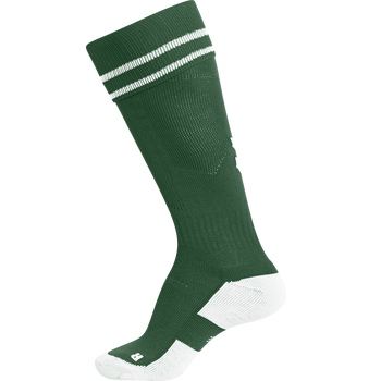 ELEMENT FOOTBALL SOCK , EVERGREEN/WHITE, packshot