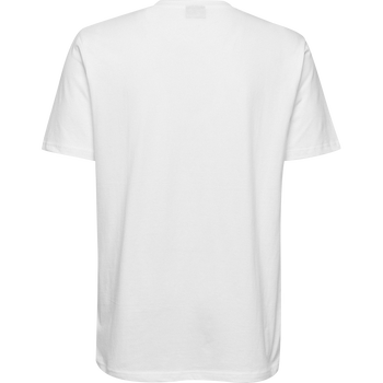 HMLGO KIDS COTTON LOGO T-SHIRT S/S, WHITE, packshot