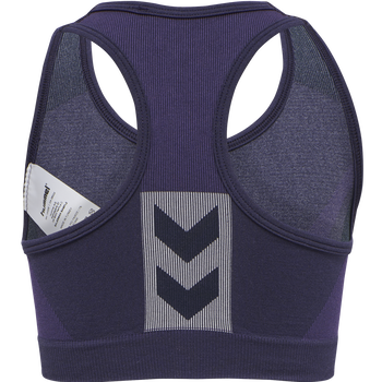 hmlHARPER SEAMLESS SPORTS TOP, OMBRE BLUE , packshot