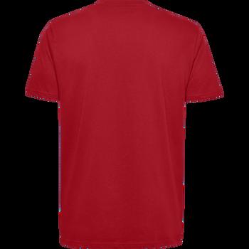 HMLGO KIDS COTTON LOGO T-SHIRT S/S, TRUE RED, packshot