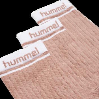 hmlCONI 3-PACK SOCK, ROSE DAWN, packshot