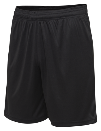 hmlACTIVE KIDS POLY SHORTS, BLACK, packshot