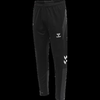 hmlLEAD FOOTBALL PANTS, BLACK, packshot