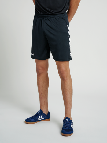 CORE POLY SHORTS, BLACK PR, model