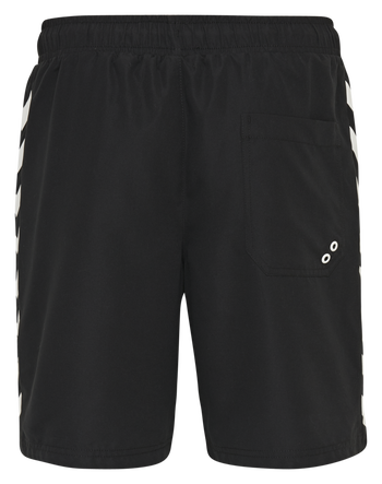 hmlRADLER BOARD SHORTS, BLACK, packshot