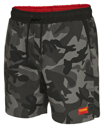 hmlEVAN BOARD SHORTS, BLACK, packshot