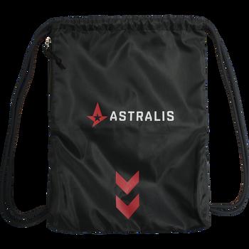 ASTRALIS GYM BAG, BLACK, packshot