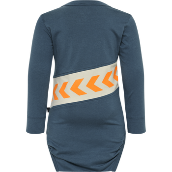 hmlCLEMENT BODY L/S, MAJOLICA BLUE, packshot