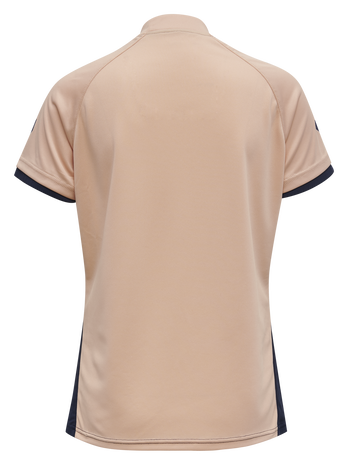hmlACTION JERSEY S/S WOMAN, MARINE/DUSTY PINK, packshot