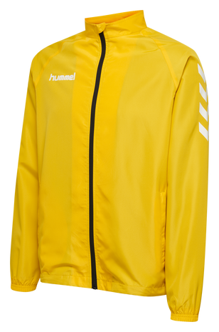CORE KIDS MICRO ZIP JACKET, SPORTS YELLOW, packshot