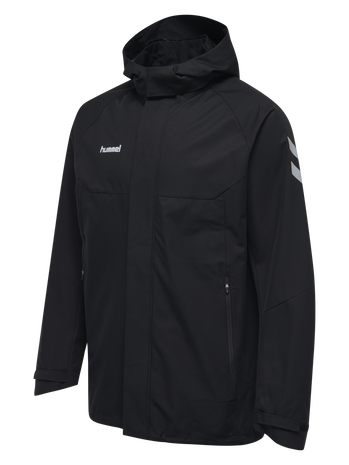 TECH MOVE ALL WEATHER JACKET, BLACK, packshot