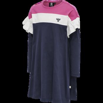 hmlANNA DRESS L/S, LILAC ROSE, packshot