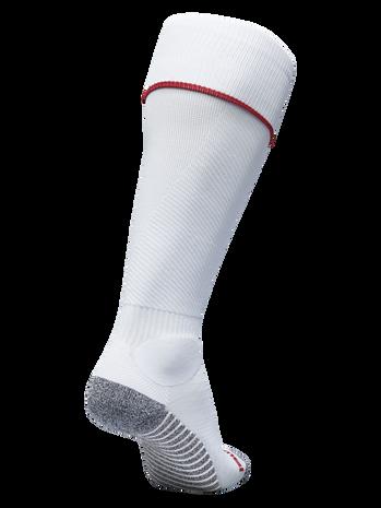 PRO FOOTBALL SOCK 17-18, WHITE/TRUE RED, packshot