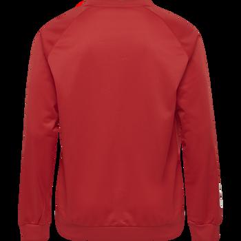 hmlPROMO POLY SWEATSHIRT, TRUE RED, packshot