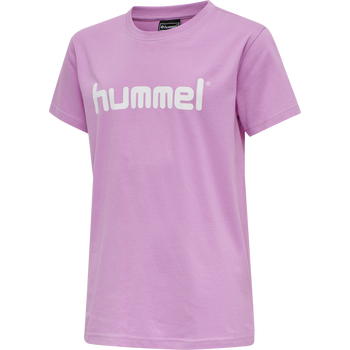 HMLGO KIDS COTTON LOGO T-SHIRT S/S, ORCHID, packshot