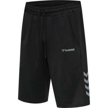 HMLERASTUS SHORT, BLACK, packshot