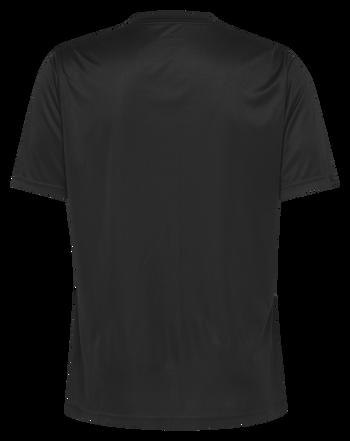 HMLREFEREE JERSEY S/S, BLACK, packshot