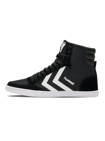 HUMMEL SLIMMER STADIL HIGH, BLACK/WHITE KH, packshot
