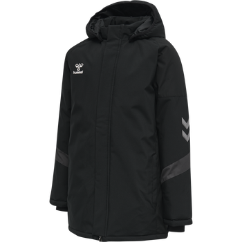 hmlLEAD BENCH JACKET KIDS, BLACK, packshot