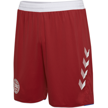 DBU AWAY KIDS SHORTS 18/19, TANGO RED, packshot
