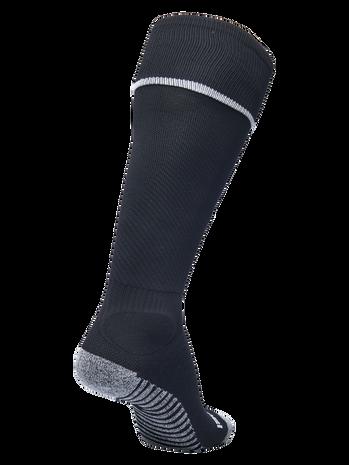 PRO FOOTBALL SOCK 17-18, BLACK/WHITE, packshot