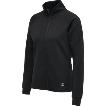 hmlESSI ZIP JACKET , BLACK, packshot