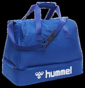 CORE FOOTBALL BAG, TRUE BLUE, packshot