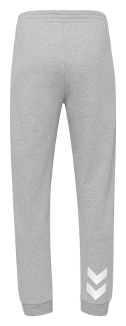 HMLGO COTTON PANT, GREY MELANGE, packshot