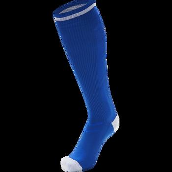 ELITE INDOOR SOCK HIGH, TRUE BLUE/WHITE, packshot
