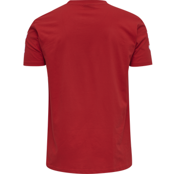HMLGO COTTON T-SHIRT S/S, !TRUE RED, packshot